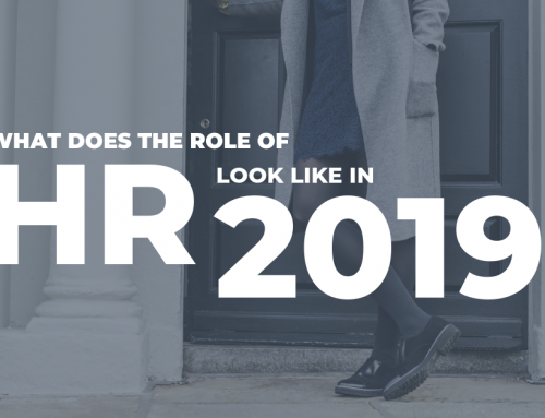 What does the role of HR look like in 2019?
