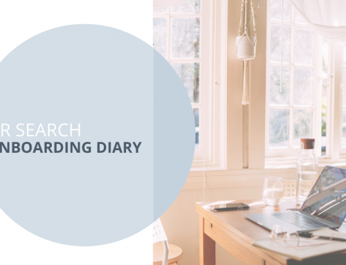 Onboarding Diary – Thoughts from a newbie